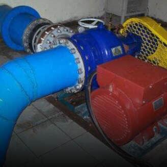 Water Turbine for Mikro / Mini Hydro Power Plant