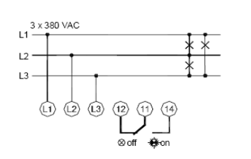 Phase Controller Wiring Phase Failure Relay Diagram Electrical ... on potential start relay, potential relay drawing, potential relay hvac, potential transformer wiring, potential relay circuits, potential relay testing, potential relay configuration, potential relay troubleshooting,