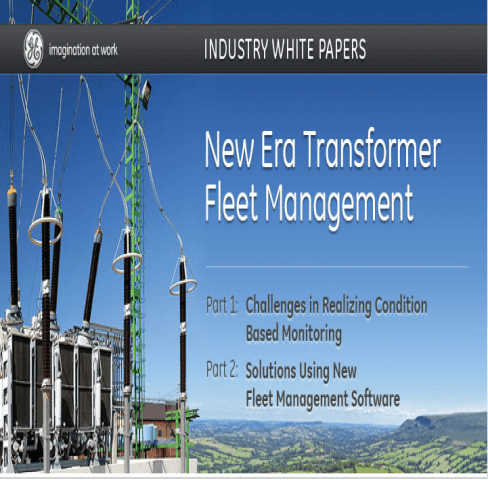 GE White Papers: New Era Transformer Fleet Management