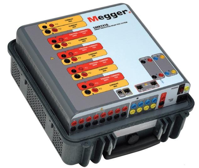 Megger SMRT Series  | 3-Phase Relay Tester