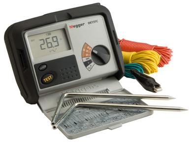 MEGGER DET3 Series  | Earth and Ground Resistance Tester