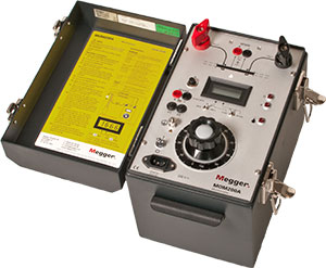 Megger MOM200A   | Micro-OhmMeter