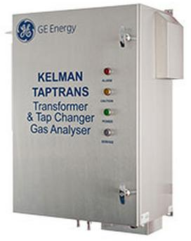 GE KELMAN TapTrans   | 9 Gas DGA Monitoring + Moisture for Main & LTC Tank
