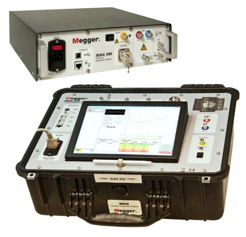 MEGGER IDAX 300/350   | Insulation Diagnostic Analyzer