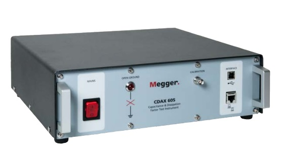 MEGGER CDAX605   | Capacitance and Dissipation Factor Test Set