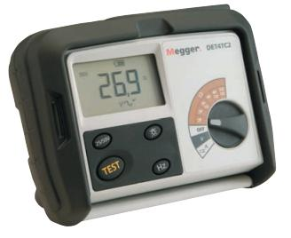 MEGGER DET4 Series   | Earth and Ground Resistance Tester