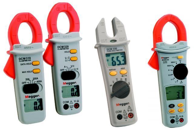 MEGGER DCM 3xx Series     ClampMeter