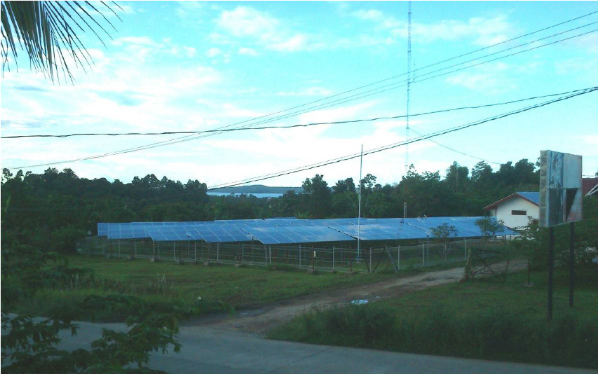 PV ON-GRID 150kWp In Sipora Island West Sumatra Province