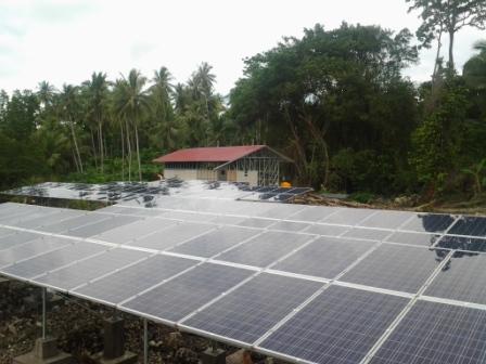 PV Off Grid 44 kWp.